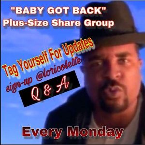 Baby Got Back Plus-Size Share Group Info